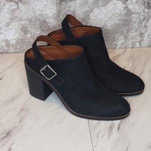 Lucky Brand Machiko Heels Boots Size 8.5 Black